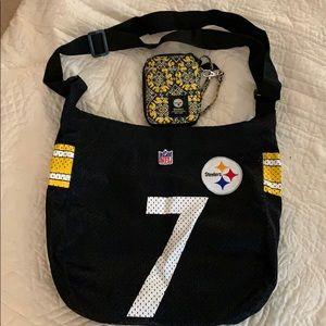 Handbags - Steelers wallet and bag!